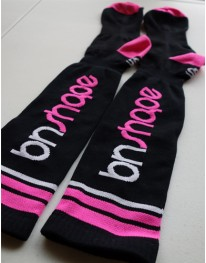 Performance Socks (Black/Neon Pink)