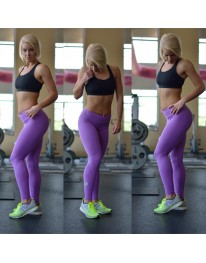 Purple Lifestyle Leggings