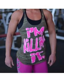 I'm Killin' It Camo Racerback Tank