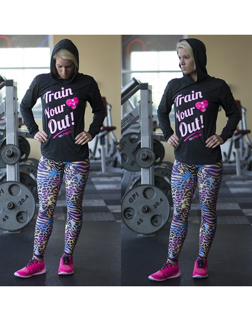 Train Your Hear Out Combo Pack - Hoodie + Neon Leggings