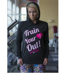 Train Your Heart Out Hoodie Tee
