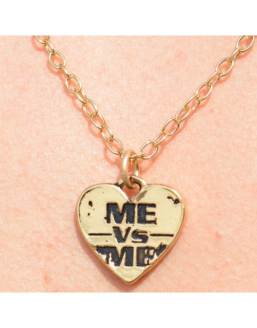 Me Vs. Me Necklace